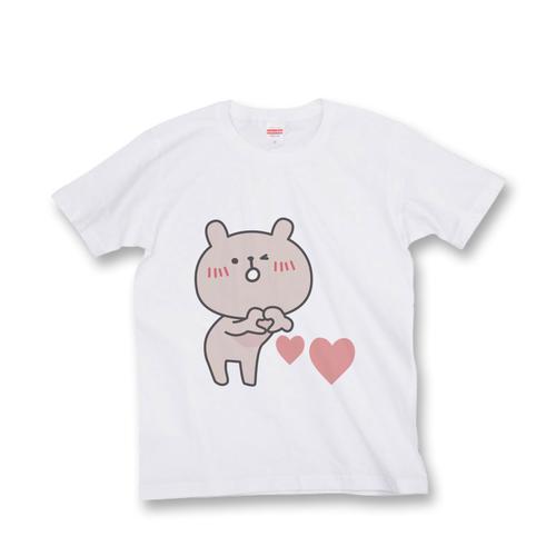 ラパン Tシャツ 『ハート』