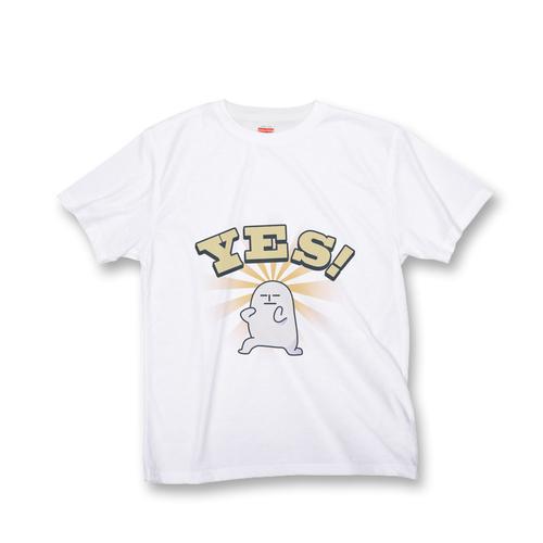 黒田さん オールオーバー Tシャツ 『YES!』