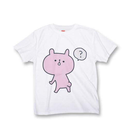 ラパン オールオーバー Tシャツ 『ふりかえり「?」』