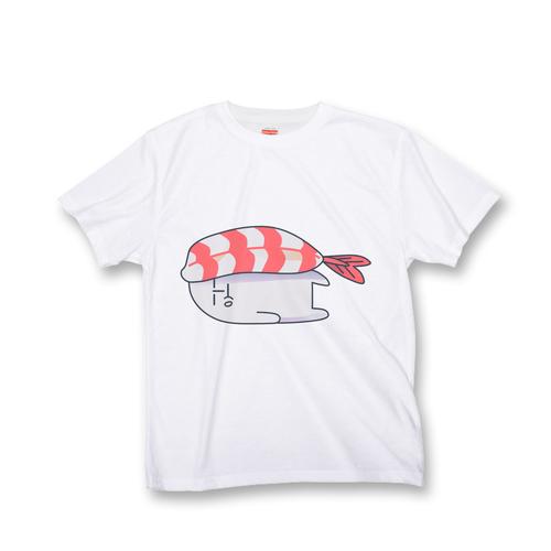 黒田さん オールオーバー Tシャツ 『SUSHI』