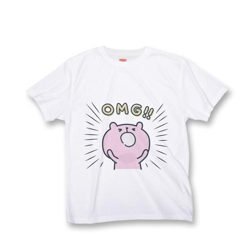 ラパン オールオーバー Tシャツ 『OMG!』