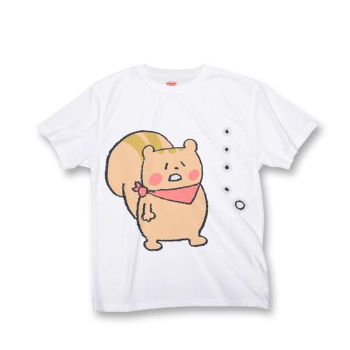 リストくん オールオーバー Tシャツ 『……。』