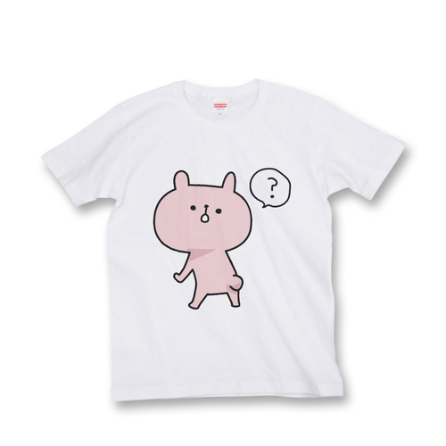 ラパン Tシャツ 『ふりかえり「?」』